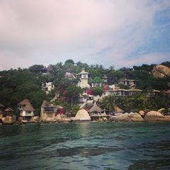 Photo taken at Jamahkiri Spa & Resort by Victoria C. on 1/8/2014