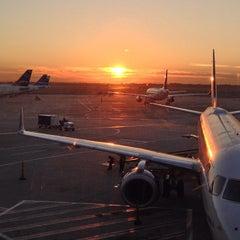 Photo taken at Terminal 5 by Ian B. on 10/1/2013