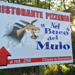 Photo taken at Nel Buco del Mulo by Eusebio C. on 7/3/2014