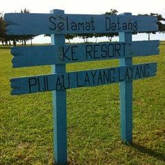 Photo taken at Pulau Layang-layang by Ikmal K. on 6/7/2013