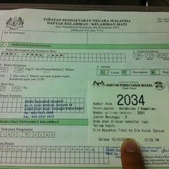 Photo taken at Jabatan Pendaftaran Negara Selangor by Ikmal K. on 10/16/2012