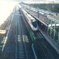 Photo taken at Estación de Segovia-Guiomar by MJ on 1/6/2013