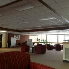 Photo taken at McIntyre Library by Alex L. on 1/3/2013