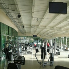 Photo taken at Gimnasio by Erick G. on 1/17/2013