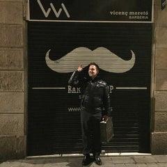 Photo taken at Barbería Vicenç Moretó by Owen T. on 3/2/2015