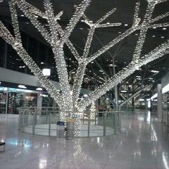 Photo taken at Stuttgart Airport Manfred Rommel (STR) by Hung N. on 12/22/2012