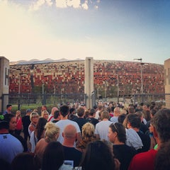 Photo taken at FNB Stadium by Steven I. on 2/2/2013