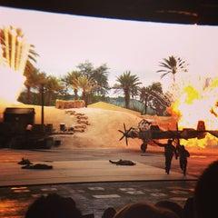 Photo taken at Indiana Jones Epic Stunt Spectacular! by Brett S. on 1/7/2013