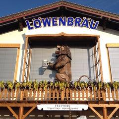 Photo taken at Löwenbräu-Festzelt by Alexander S. on 10/3/2013