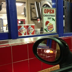 Photo taken at Burger King by Kenny P. on 12/23/2012