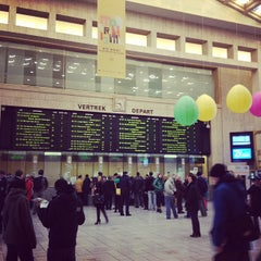 Photo taken at Gare de Bruxelles-Central / Station Brussel-Centraal by Oleg U. on 4/2/2013