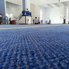 Photo taken at Masjid UNITEN by Wan F. on 12/19/2012