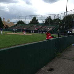 Photo taken at Veterans Memorial Field by Maria S. on 7/7/2013