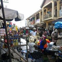 Photo taken at Madina Market by francis o. on 4/9/2014
