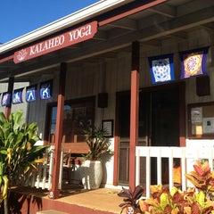 Photo taken at Kalaheo Yoga by Helena O. on 8/30/2013
