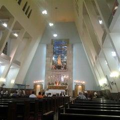 Photo taken at Igreja Nossa Senhora de Fátima e São Jorge by Nanda P. on 7/21/2013