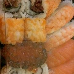 Photo taken at Sushi Wrap by Francesca B. on 2/4/2013