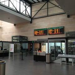 Photo taken at Estación de Segovia-Guiomar by Court P. on 3/26/2013