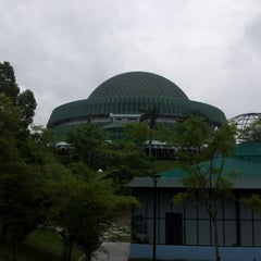 Photo taken at National Science Centre (Pusat Sains Negara) by zamil r. on 12/24/2012