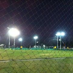 Photo taken at สนามบอล สท.แพะ by Kwannapa K. on 12/15/2013