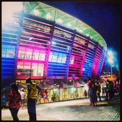 Photo taken at Itaipava Arena Fonte Nova by Thiago F. on 7/29/2013