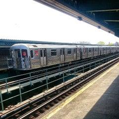 Photo taken at MTA Subway - Saratoga Ave (3) by Ojai M. on 4/22/2013