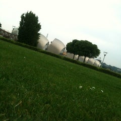 Photo taken at Thames Barrier Park by Andrius S. on 6/19/2013