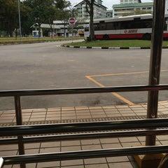Photo taken at Yishun Temporary Bus Interchange by Mayette A. on 1/25/2013