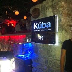 Photo taken at Küba Restaurant & Lounge Bar by Derya K. on 7/20/2013