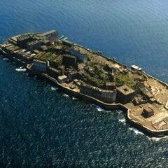 Photo taken at 端島 (軍艦島) Hashima (Gunkanjima) Island by Nigella S. on 6/6/2013
