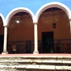 Photo taken at Hacienda Santa Rosa by Cristina S. on 2/21/2014
