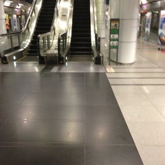 Photo taken at Potong Pasir MRT Station (NE10) by Minn T. on 12/16/2012