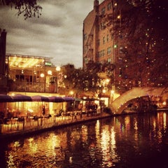 Photo taken at The San Antonio River Walk by Maurizio C. on 1/3/2013