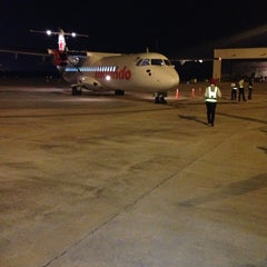 Photo taken at Sultan Ismail Petra Airport (KBR) by nik hafez on 7/19/2013