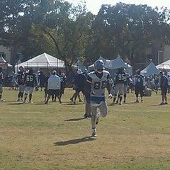 Photo taken at Dallas Cowboys Training Camp by Kara G. on 8/1/2014