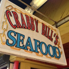 Photo taken at Crabby Bill's Clearwater Beach by Christopher A. on 1/11/2013
