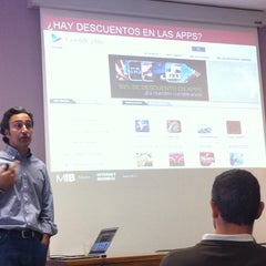 Photo taken at MIB - Master Internet Business by Carlos Á. on 5/18/2013