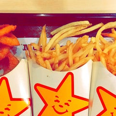 Photo taken at Carl's Jr by Adrian H. on 5/2/2015