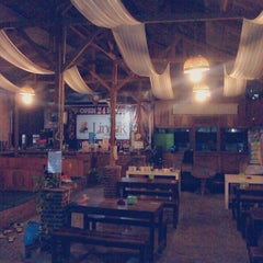 "Photo taken at Lincak ""Warung Hotspot Bukan Cafe"" by D'Angkringan p. on 1/18/2014"