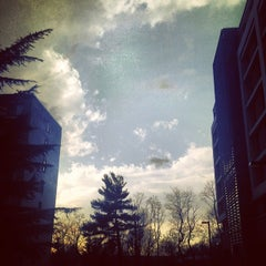 Photo taken at AU - McDowell Hall by Bridget B. on 2/19/2014