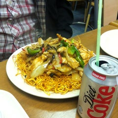 Photo taken at China Town Noodle Bar 中華美食 by Gurpreet S. on 1/3/2013