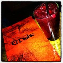 Photo taken at El Diablo by Sam J. on 1/27/2013