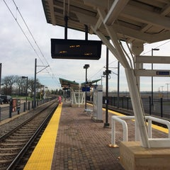 Photo taken at Fort Snelling LRT Station by Erin C. on 5/11/2014