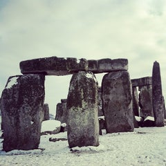 Photo taken at Stonehenge by Ricardo P. on 1/21/2013