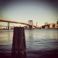 Photo taken at South Street Seaport by Tim W. on 11/14/2012