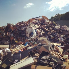 Photo taken at Fort Totten Trash Transfer Station by All Things Go on 5/31/2013