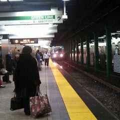 Photo taken at MBTA Park Street Station by A.P. Blake on 2/7/2013