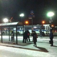 Photo taken at Williamsburg Bridge Bus Terminal by Miguel R. on 1/5/2013