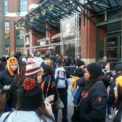 Photo taken at Willie Mays Gate by Noel J. on 2/9/2013