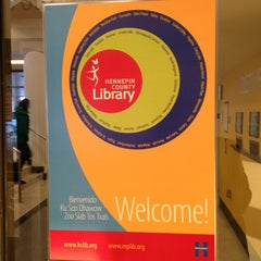 Photo taken at Southdale Library by Norm B. on 1/4/2013
